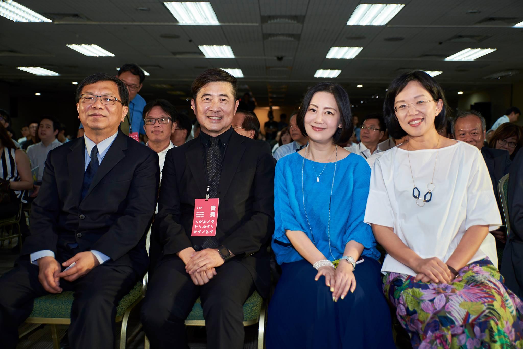 立法委員蘇巧慧與2018年新一代設計展